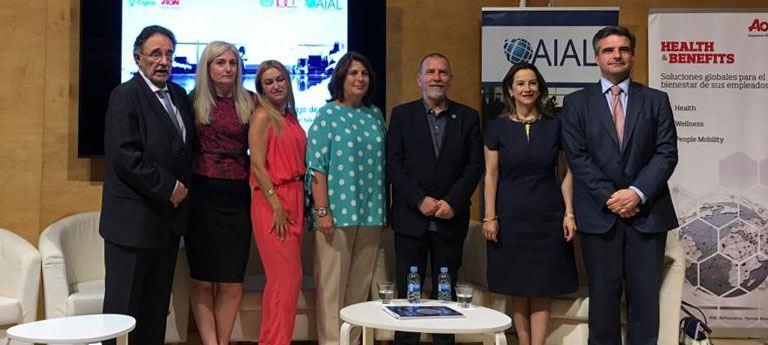 Evelyn García participo en el pasado evento organizado por AIAL